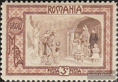 Romania 208 with hinge 1907 Poor relief