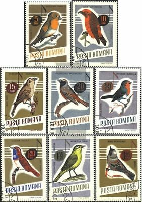 Romania 2500-2507 (complete.issue.) unmounted mint / never hinged 1966 Songbirds