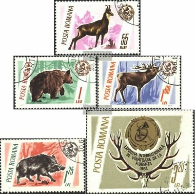 Romania 2460-2464 (complete.issue.) unmounted mint / never hinged 1965 Trophies