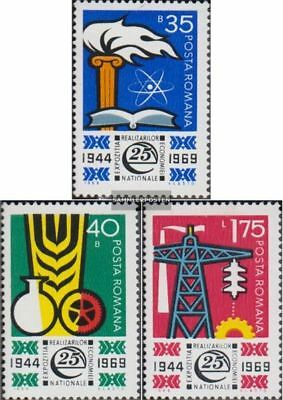 Romania 2783-2785 (complete.issue.) unmounted mint / never hinged 1969 Exhibitio