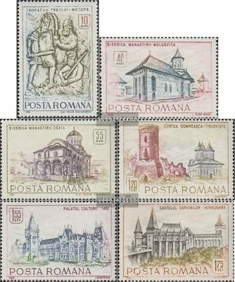 Romania 2714-2719 (complete.issue.) unmounted mint / never hinged 1968 Historica