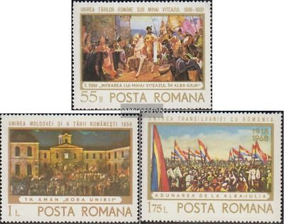 Romania 2721A-2723A (complete.issue.) unmounted mint / never hinged 1968 Inclusi