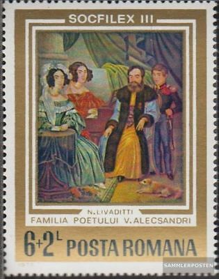 Romania 3133 (complete.issue.) unmounted mint / never hinged 1973 Stamp Exhibiti