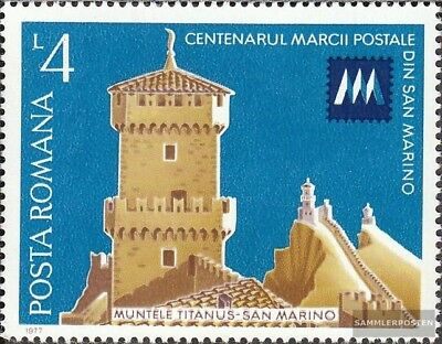 Romania 3441 (complete.issue.) unmounted mint / never hinged 1977 Stamps of San