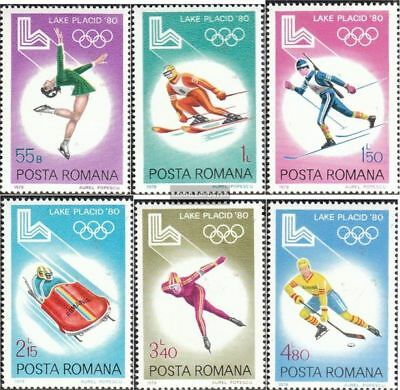Romania 3666-3671 (complete.issue.) unmounted mint / never hinged 1979 olympic.