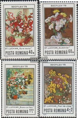 Romania 3619-3622 (complete.issue.) unmounted mint / never hinged 1979 Stamp Exh