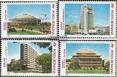 Romania 4324-4327 (complete.issue.) unmounted mint / never hinged 1987 INTEREURO