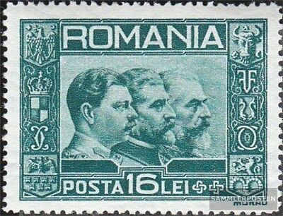 Romania 418 (complete.issue.) with hinge 1931 Postage stamp Kings