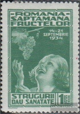 Romania 478 with hinge 1934 Fruchtausstellung