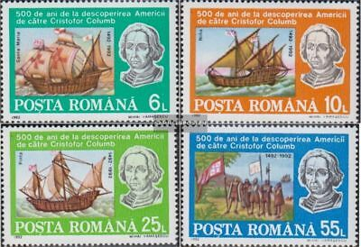 Romania 4824-4827 (complete.issue.) unmounted mint / never hinged 1992 Discovery