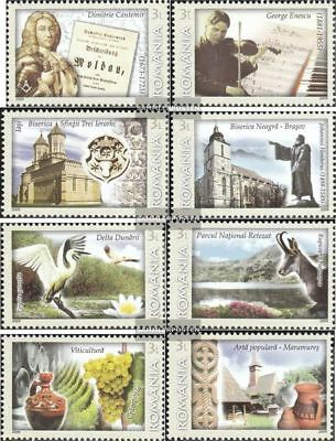 Romania 6385-6392 (complete.issue.) unmounted mint / never hinged 2009 Romania -