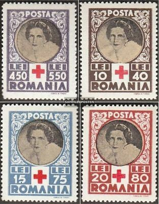 Romania 827-830 (complete.issue.) unmounted mint / never hinged 1945 Red Cross