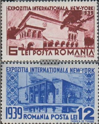 Romania 594-595 (complete.issue.) unmounted mint / never hinged 1939 World's