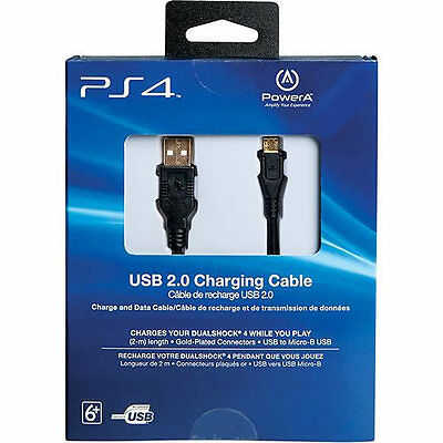 OFFICIAL PS4 USB Cable Controller Charger charge genuine SONY 1.5m Wire Pad NEW
