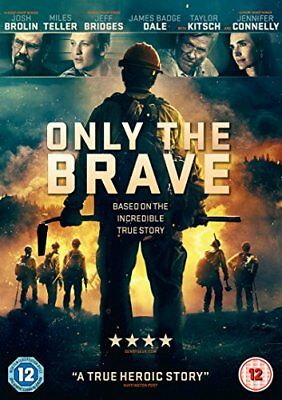 Only the Brave [DVD] [2017] -  CD NCLN The Fast Free Shipping