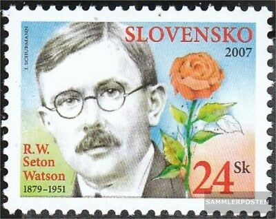 Slovakia 567 (complete.issue.) unmounted mint / never hinged 2007 Personalities