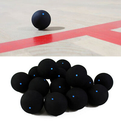 Pro One Blue Dot Rubber Squash Ball Training Competition Accessories HOT Goodish