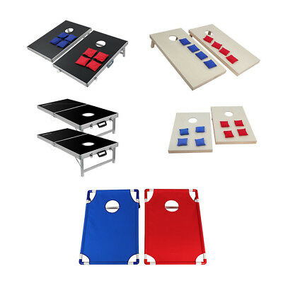 Cornhole Game Set Bean Bag Toss Game Home Party Outdoor Amusement Toss Sports