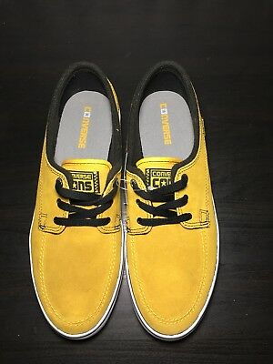 CONVERSE SEA STAR LS Ox 10.5 Mens Gold Suede Shoes $35.00