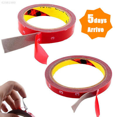 3M SUPER STRONG STICKY DOUBLE SIDED SELF ADHESIVE TAPE 15 MM CAR AUTO NEW