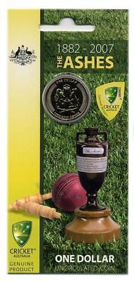 2007 Australian Uncirculated Dollar Coin - The Ashes 1882-2007 Free Postage!