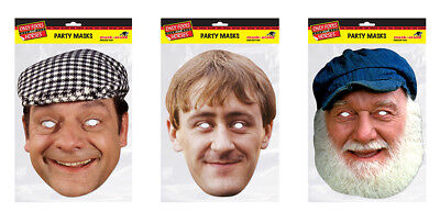 Uncle Albert Trotter Face Party Mask Card A4 Fancy Dress TV Mens Fools Horses