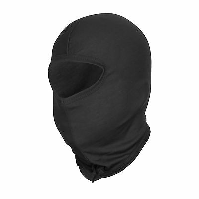 Under Motorcycle Crash Helmet Thermal Balaclava In Black, Ideal Biker Gift.