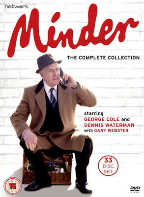 Minder: The Complete Collection DVD (2018) George Cole ***NEW***