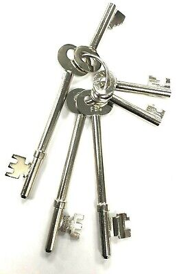 Fire Brigade Master Keys Set of 6 Manufactured in our UK Factory