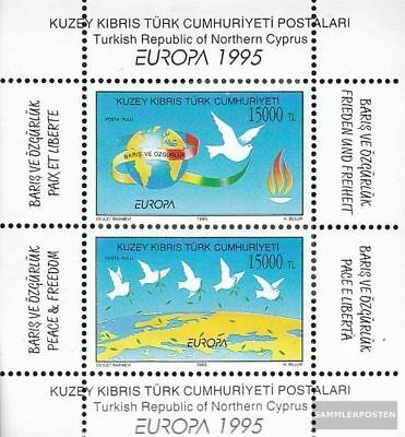 Turkish-Cyprus block14 (complete.issue.) unmounted mint / never hinged 1995 Peac