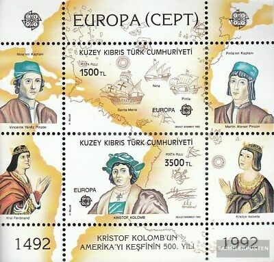 Turkish-Cyprus block10 (complete.issue.) unmounted mint / never hinged 1992 Amer