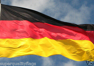 NEW 4x6 ft GERMAN GERMANY FLAG WITH BRASS GROMMETS USA SELLER