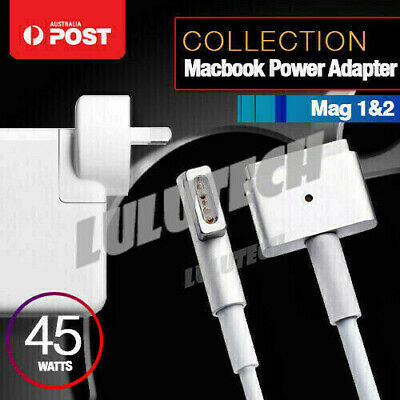 45W AC Macbook Air 11 13 Power Adapter charger MagSafe 1/2 L/T Tip for Apple Mac