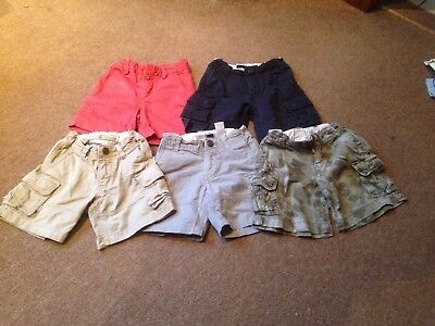 Boys Gap Shorts.. Summer Shorts. Aged 2Years. X5 Pairs.. Very Good Condition