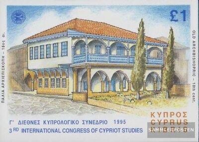 Cyprus block16 (complete.issue.) unmounted mint / never hinged 1995 Studies
