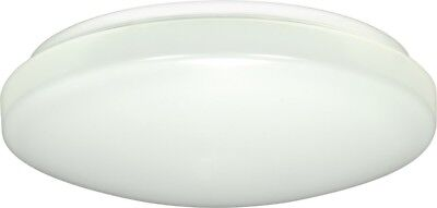 "Nuvo - 1-Light 11"" Flush Mounted LED Light Fixture White Finish 3000K - 62-545"