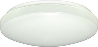 "Nuvo - 1-Light 14"" Flush Mounted LED Light Fixture White Finish 3000K - 62-547"