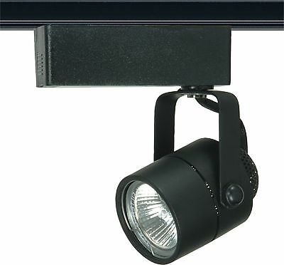 Nuvo - 1 Light - MR16 - 12V Track Head - Round Black - TH235