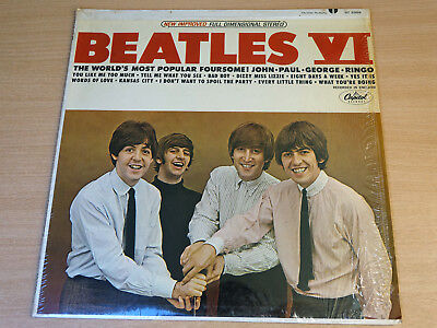 EX-/EX !! The Beatles/IV/1965 Capitol Stereo LP/USA Issue/4