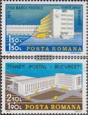 Romania 3309-3310 (complete.issue.) unmounted mint / never hinged 1975 Day the S