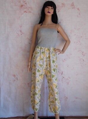 24a8b6fac367 Vintage 80s Grey Corn Style Go Go Romper JumpSuit size 8 10 by Likka (