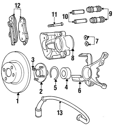 2003 Ford Focus Zx3 Engine Parts Diagram