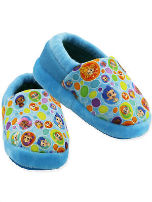 Bubble Guppies Toddler Boys Girls Plush A-Line Slippers CH18026