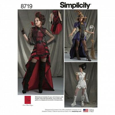Free UK P&P - Simplicity Sewing Pattern 8719 (Simplicity-8719-M(FP))