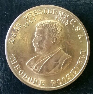 Theodore Roosevelt, 26th President Commemorative Coin
