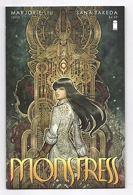Monstress #1 1st Printing Marjorie Liu Image Nov 2015 NM