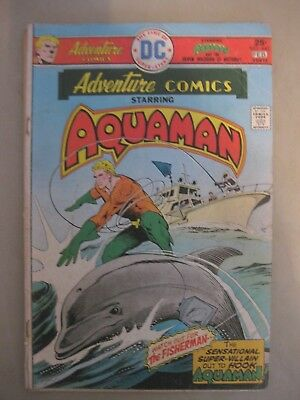 Adventure Comics Starring Aquaman #443 February 1976 DC Comics
