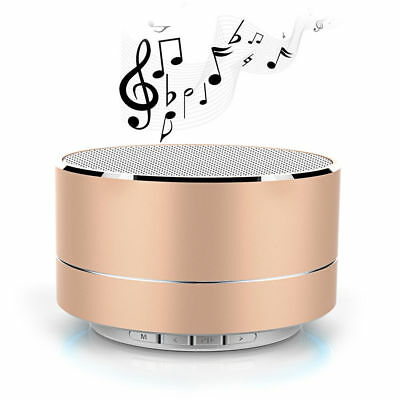Portable Bluetooth Wireless Mini Speaker MP3 Player TF Card Slot Super Bass