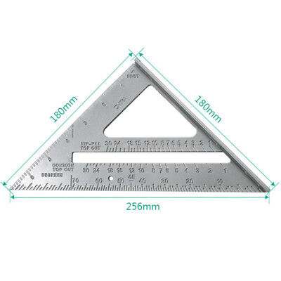 Aluminium Alloy Roofing Rafter Square Triangle Angle Guide Amtech P3396