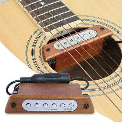 Fishman Presys Sound Hole Acoustic Guitar Pickup Preamp EQ Tuner Mic Beat